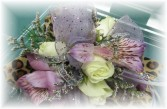 Lavender Mist Wrist Corsage Inspirations Designed Corsage