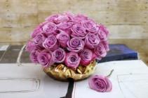 Lavender Pave Arrangement