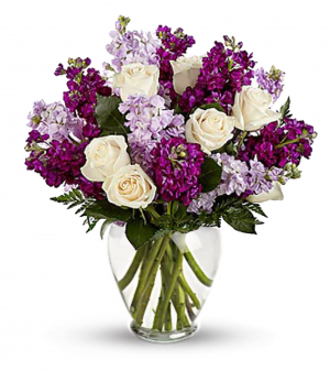 Lavender Princess Arrangement in Riverside, CA | RIVERSIDE BOUQUET FLORIST