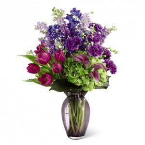 Lavender Regards   in Yonkers, NY | YONKERS FLORIST- BELLA'S FLOWER SHOP