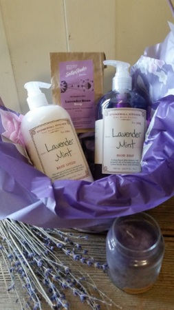 Lavender Relax Basket Gift & Gift Basket in Warren, PA | VIRG-ANN FLOWER SHOP INC.