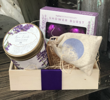 Lavender Relaxation Set Gift Set