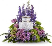 Lavender Rememberance Cremation Ring in Universal City, TX | Karen's House Of Flowers & Custom Creations