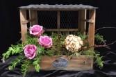 Lavender Rose Arrangement Keepsake