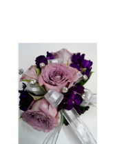 Lavender Rose Corsage