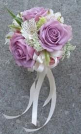 LAVENDER ROSE Prom Nosegay