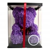 Lavender Rose Teddy Bear