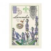 Lavender rosemary dish towel dish towel