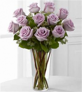 Lavender Roses Rose Arrangement