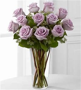 Lavender Roses Rose Arrangement