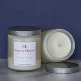 Lavender Sage  Natural Soy Candle