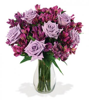 Lavender Skies Vase Arrangement
