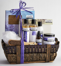 Lavender Spa Basket Birthday