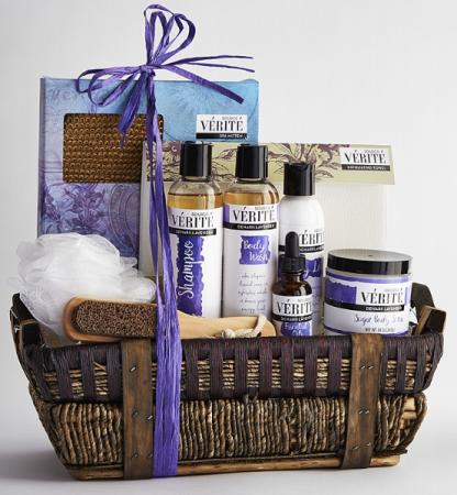 Lavender Spa Basket Birthday