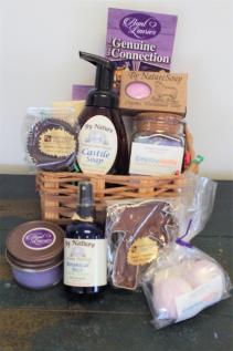 Lavender Spa Gift Basket