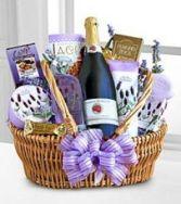 Lavender Spa Pamper Me Basket Gift Basket