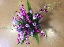 Lavender splendor Vase