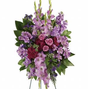 Lavender Standing Spray Sympathy
