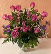 Lavender & Then Some! Vase Arrangement