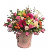 Lavender Tones In Flower Box