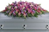 Lavender Tribute Casket