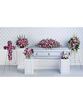 Lavender Tribute Collection Sympathy Combo