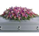 Lavender Tribute Spray Casket Spray
