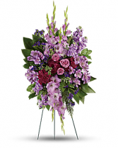 Lavender Tribute Standing Spray