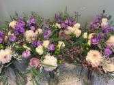 Lavender Wedding Centerpieces