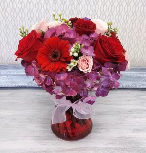 Mi Amor Vased Arrangement in Winter Springs, FL | WINTER SPRINGS FLORIST AND GIFTS