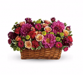 Lavish Beauty Basket Arrangement
