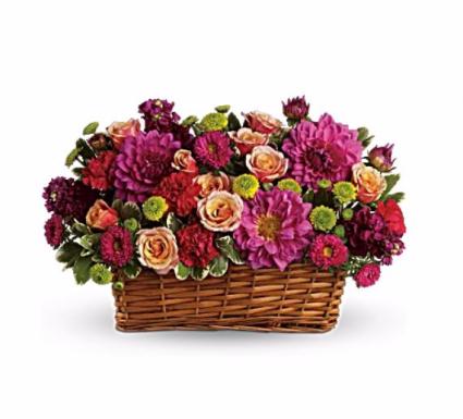 Lavish Beauty Basket Arrangement