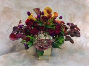 Lavish Calla Centerpiece  in Teaneck, NJ | TIGER LILY
