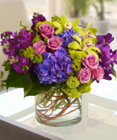 LAVISH LAVENDER Vase Arrangement