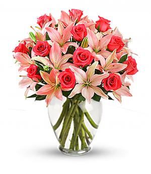 Lavish Lilies Anniversary Arrangement in Redlands, CA | REDLAND'S BOUQUET FLORIST & MORE
