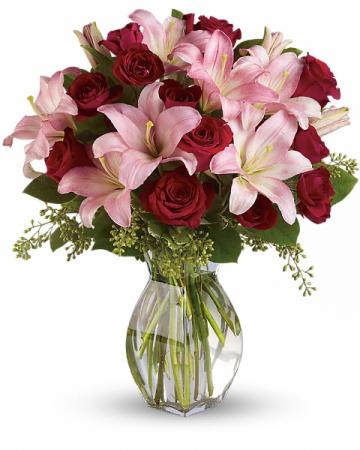 Lavish Love Bouquet All-Around Floral Arrangement