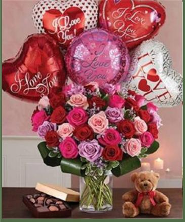 Lavish Love Bouquet - Premium