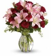 Lavish Love Bouquet with Long Stemmed Red Roses fresh arrangement
