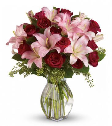 Lavish Love Vase Arrangement
