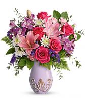 Lavishly Lavender Bouquet Floral Arrangement