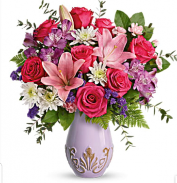 Lavishly Lavender  Rose's and Lillies