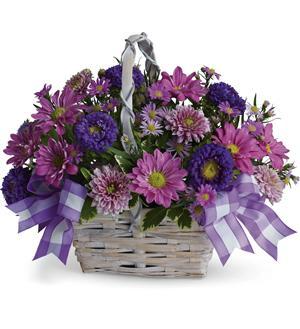 Lazy Daisy Basket arrangement