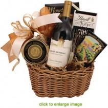 Le Fromage et Le Vin Wine & Cheese Basket