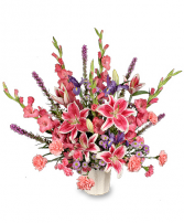 Sympathy Arrangement Loving Expression Delivery Fort Worth