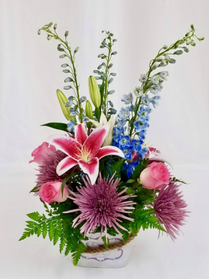 Le Papillon Floral arrangement in Coral Springs, FL | Hearts & Flowers of Coral Springs