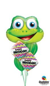 leapin' birthdays balloons