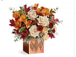 Leaves falling  Fresh arrangement  in Fairfield, OH | NOVACK-SCHAFER FLORIST