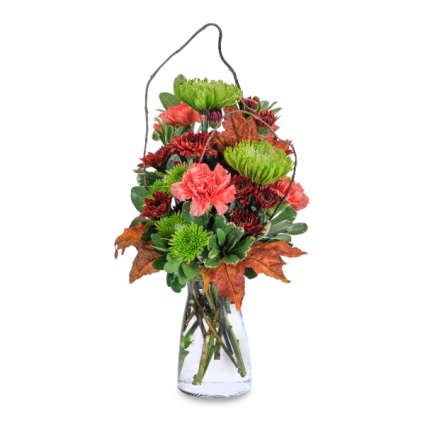Leaves of Fall Arrangement