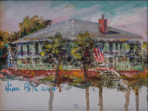 Lee House Original Oil by Nina Fritz in Pensacola, FL | JUST JUDY'S FLOWERS, LOCAL ART & GIFTS