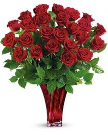 Legendary Luxury Love Bouquet Red Roses Arrangement